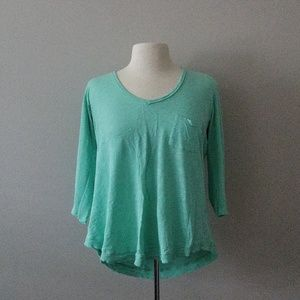 *Anthropologie * 3/4 length * Top